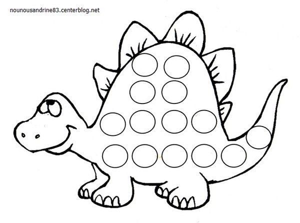 Les 10 meilleures images du tableau dinosaure sur pinterest coloriage pages dinosaures - Image dinosaure a colorier ...