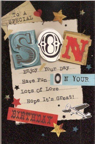 17 best images about son birthday cards on pinterest