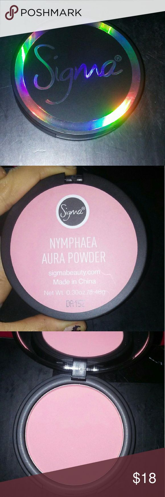 SIGMA BEAUTY AURA POWDER IN NYMPHEA Brand new never used