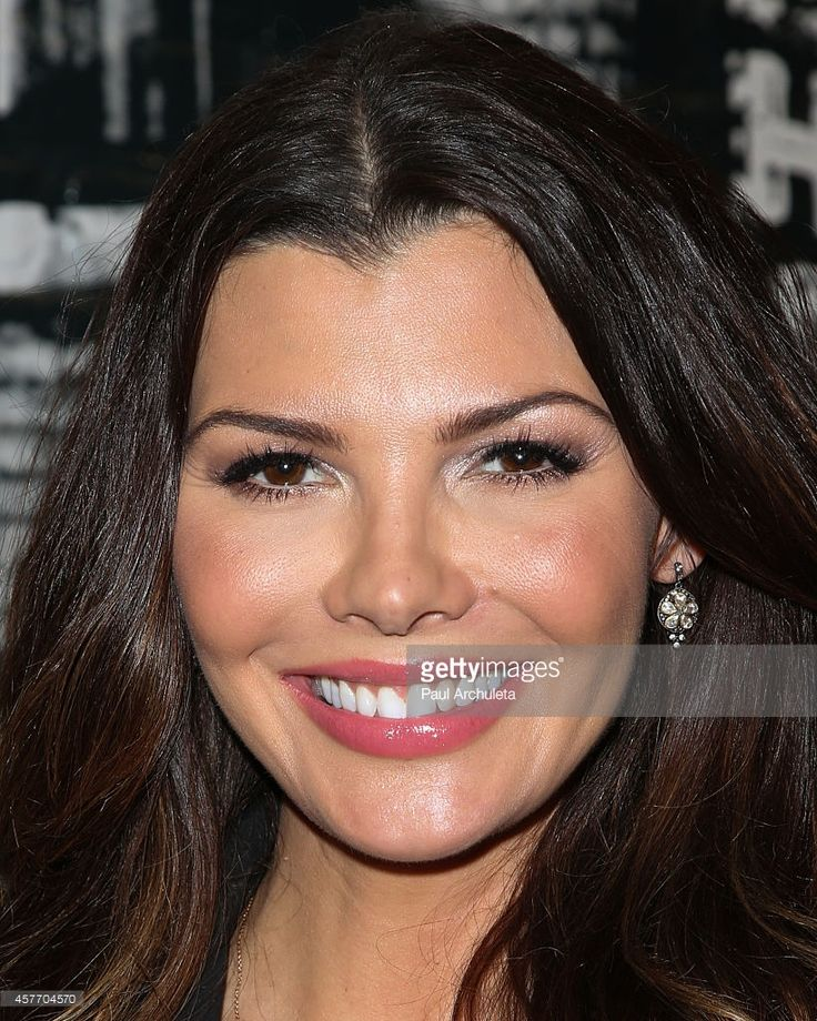 Actress Ali Landry attends Kiehl's in-store unveiling of Christopher Makos…