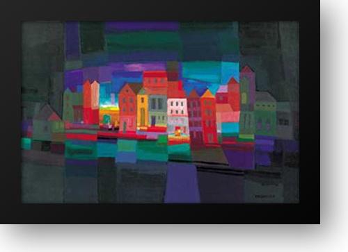36x28 Framed Art Print Ton Schulten