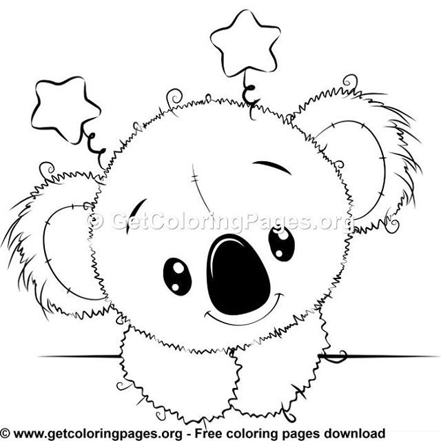 Free Coloring Pages Cute Coloring Pages