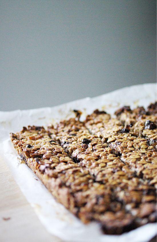 Barres de céréales aux raisins et à la banane | Petits Pois