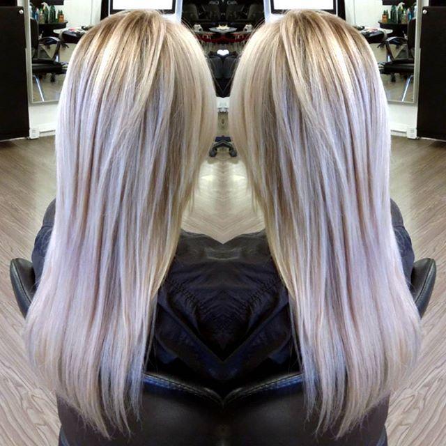 No need to wait years for your hair to grow. .. #weaintgottimeforthat . You could have thicker longer hair .... NOW. @hotheadshairextensions  @behindthechair_com  #colormelt  #balayage #foilayage #hintofviolet #blondeme #schwarzkopf #iceviolet #lorealprofessional  and always #olaplex #hairbyhelenchung #sfstylist #sfcolorist #AlchemeSalon #샌프란시스코 #헤어스타그램 #헤어익스텐션 #발리아쥬 #옴브레 #염색 #탈색 #머리스타그램  #올라플렉스 #그라데이션염색 #금발머리 #연보라머리