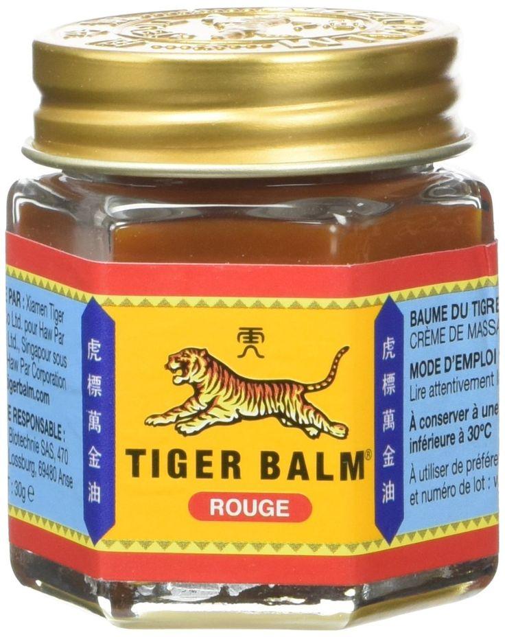 Tiger Balm 30g Bálsamo de Tigre Rojo: Amazon.es: Salud y cuidado personal