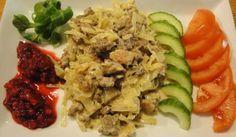 LCHF-Färsgryta med bacon och vitkål - Recept