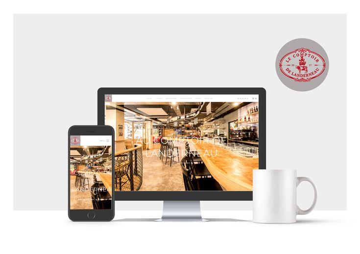 Découvrez le site du restaurant Le comptoir de Landerneau 🍴 L'agence Air Media29 Agence Web & Webmarketing - Brest Finistère vous partage une de ses dernières créations de sites web. En savoir plus 👉 http://bit.ly/2Bpn7uB #WebAgency #CommunityManagement #Brest #Finistere #Bretagne #CreationSite #SiteWeb #WebDesign
