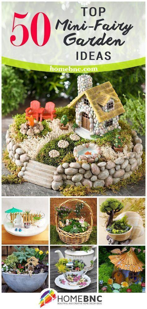 Treffen Sie Ihre Wahl! Die 50 besten Mini-Fairy Garden Design-Ideen
