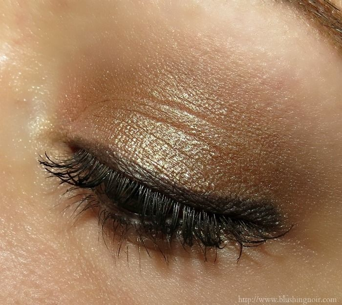 Eye look with the butter LONDON Natural Charm Shadow Clutch Palette