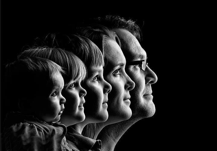 great family portrait idea