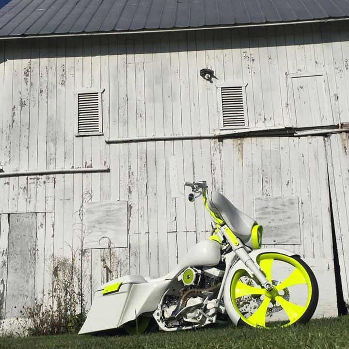 Sick bagger with our customized Edge wheel! The Edge wheel is available in a…