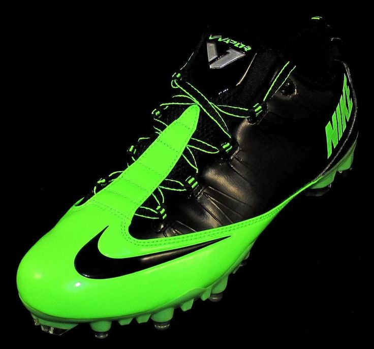 Nike Zoom Vapor Carbon Fly 2 TD Low Football/Lacrosse Cleats Size 11 Green /Black