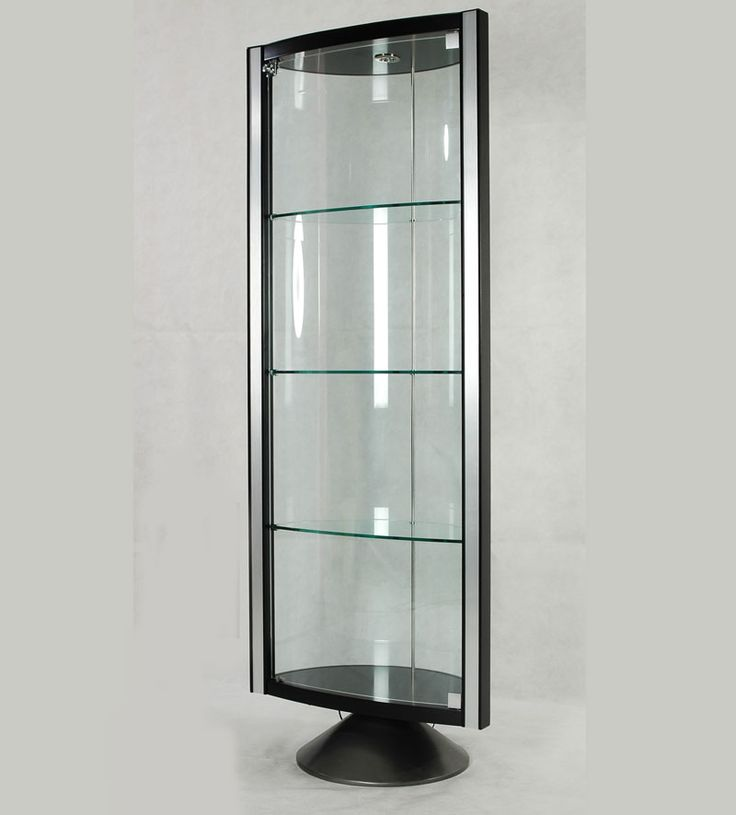 Glass contemporary curio cabinets ideas mueble pinterest cabinet ideas dining room modern - Elegant contemporary curio cabinets furniture ...