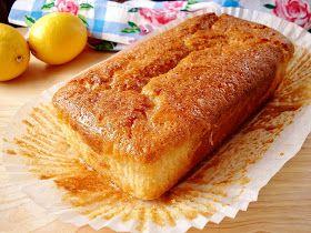 Gluten free lemon drizzle cake!