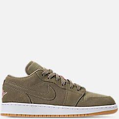 ba812e45192c16 Girls  Big Kids  Air Jordan 1 Low (3.5y - 9.5y) Casual Shoes