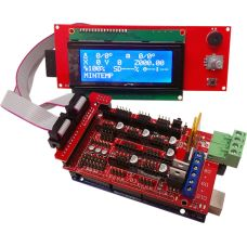 Electrónica RAMPS 1.4 + Arduino Mega 2560 + LCD 2004 + Drivers