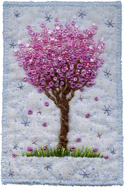 French knot tree.