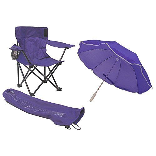 Kids' Folding Chairs - Redmon For Kids Beach Baby Umbrella Camp Chair Purple ** More info could be found at the image url.