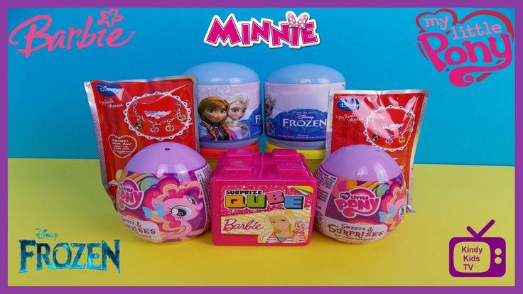 Disney. Minnie Mouse. Disney Frozen. Barbie. My Little Pony. MLP.