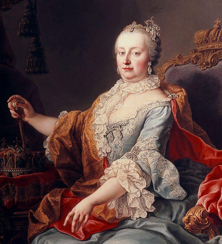 Marie Terezie Valpurga Amálie Kristýna,  císařovna římská, královna uherská a česká, arcivévodkyně rakouská, vévodkyně burgundská a hraběnka tyrolská