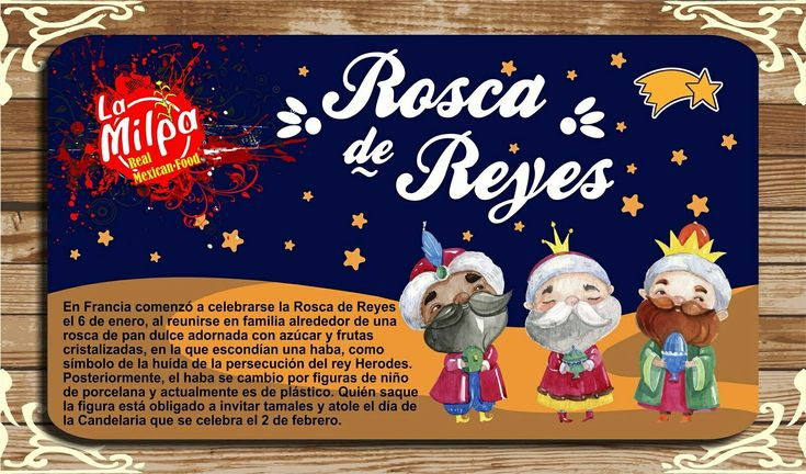"""Ask for our #Mexican """"Rosca de Reyes"""" at 804 276 3391 🇲🇽 👑👑👑  Somos / We are 24/7! 🏪  Aparta tu #RoscadeReyes con nuestra receta original!! 🎄👑👑👑  #LaMilpaRVA #RVAdine #KingsCake"""