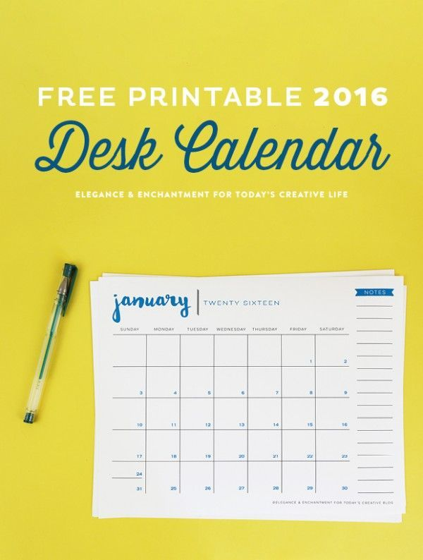 70 best Free Printable Calendars images on Pinterest Free - printable calendars