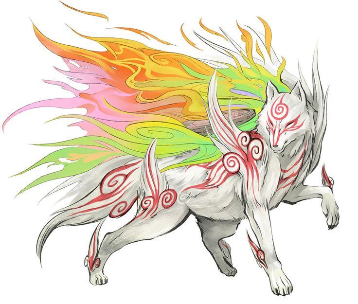Okami Amaterasu (also called Shiranui)--love this game