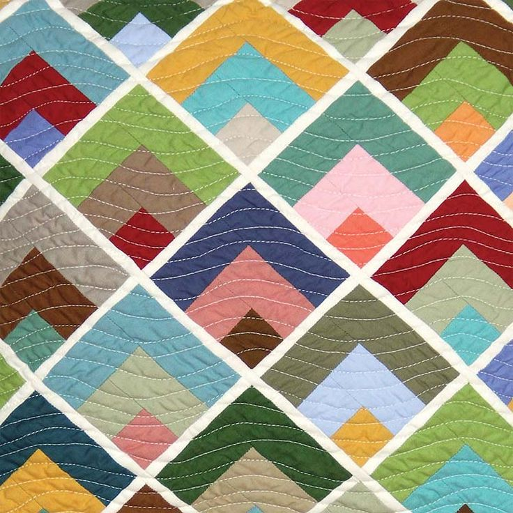Quilting Patterns And Notions : 22 best images about Quarter Log Cabins on Pinterest Jaybird quilts, Raspberry desserts and Quilt