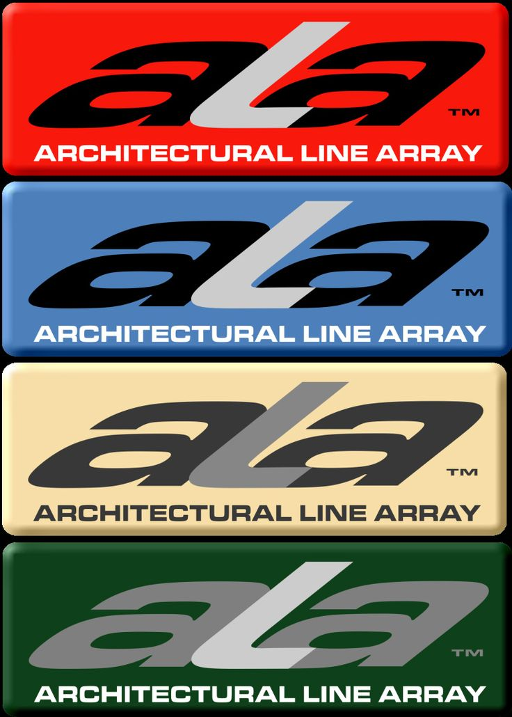 #ATProfessional - AT's ALA (Architectural Line Array) System provides compact high intelligibly solutions for a wide range of installation applications. Over 70 colours from which to choose with coordinating badges. #logos #linearray