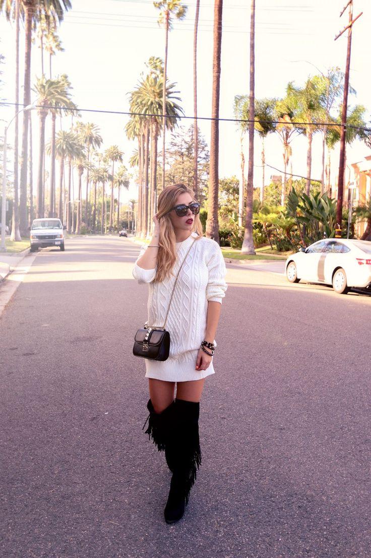 Fransen & Stiefel_Overknees_BeverlyHills_Blogger