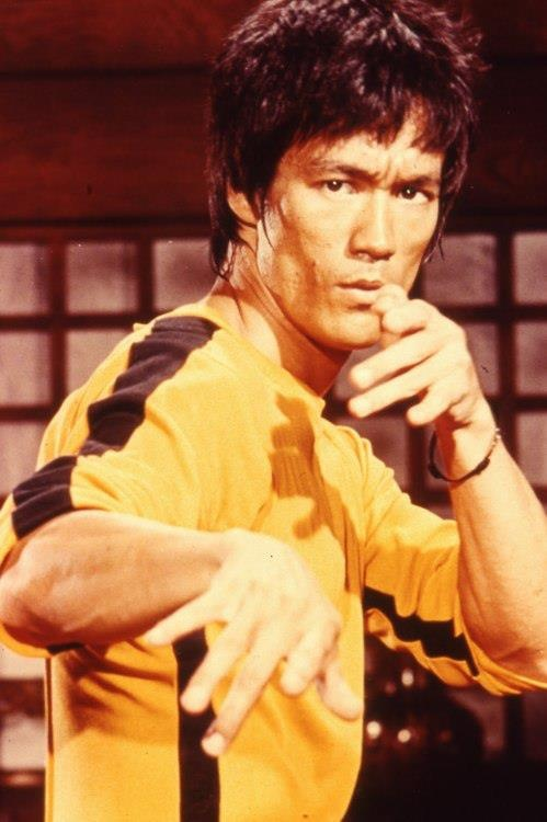 I love Bruce Lee!!!! My husband totally got me hooked on him....