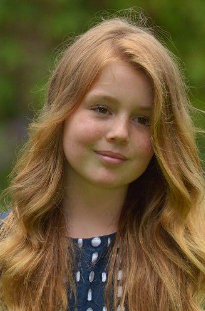 Beauty like her Mother, Queen Maxima -Alexia beetje rossig haar, juli 2016