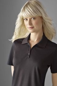 Promotional Products Ideas That Work: Ladies' micro pima johnny collar oxford polo. Get yours at www.luscangroup.com