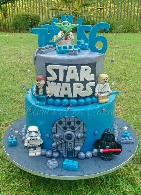 Star wars | Birthday cake | Lego