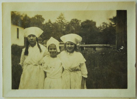 Costumed Nurses 1920's