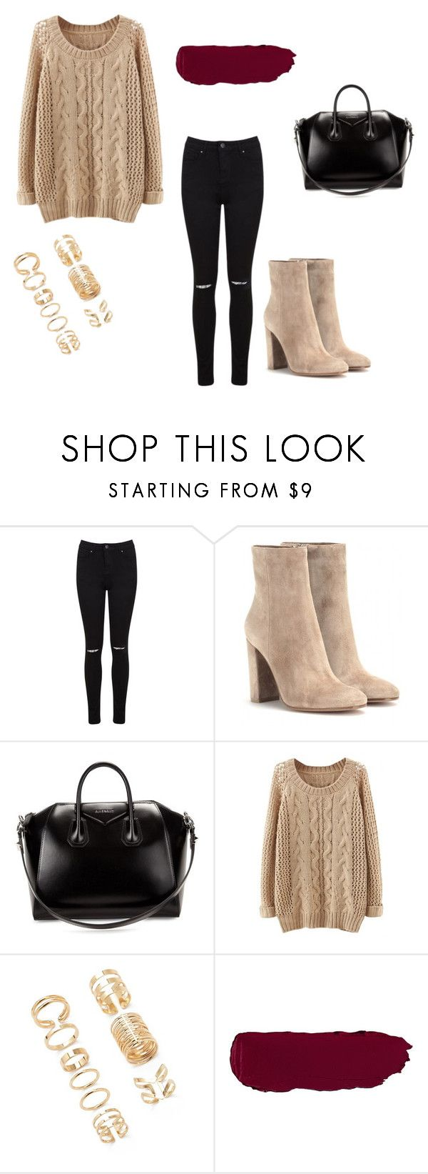 """""""what to wear this christmas"""" by missmikey on Polyvore featuring beauty, Miss Selfridge, Gianvito Rossi, Givenchy and Forever 21"""