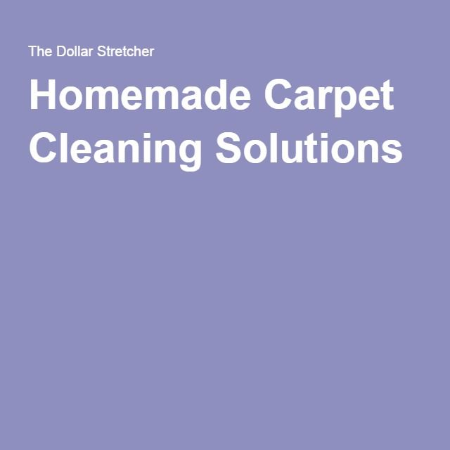 http://amzn.to/2fjw8vg Homemade Carpet Cleaning Solutions