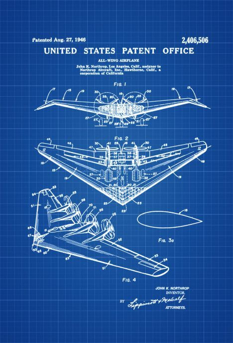 250 best blue print images on pinterest art impressions art northrop all wing airplane patent vintage airplane airplane blueprint airplane art pilot gift aircraft decor airplane poster malvernweather Image collections