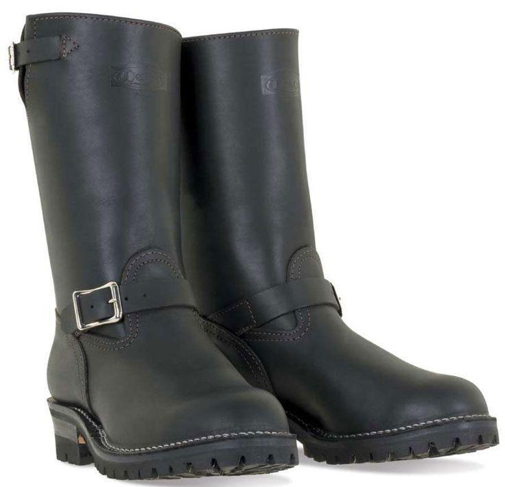 """Wesco Boss 11"""" Engineer Boots 7700100 West Coast Shoe Company USA Made"""