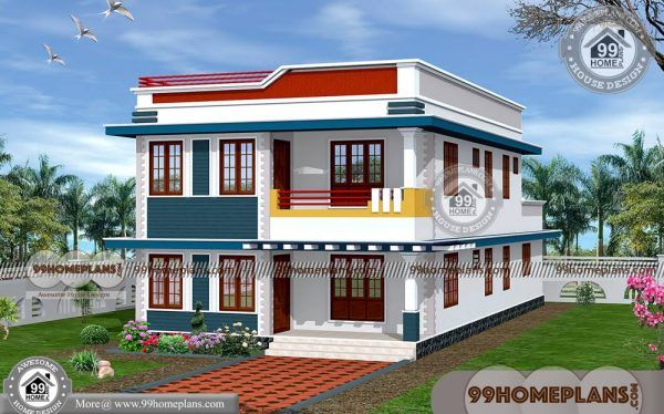 Simple House Plans In Kerala Style 90 Double Storey House Elevation House Balcony Design House Outside Design House Design Photos
