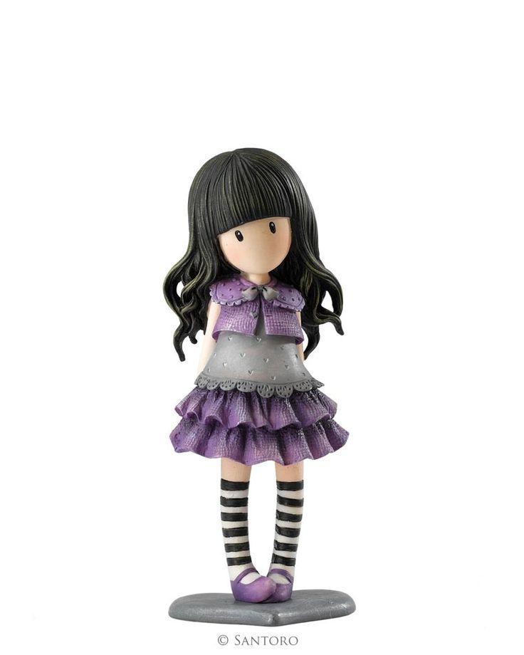 "Little Violet, Gorjuss 4"" Figurine"