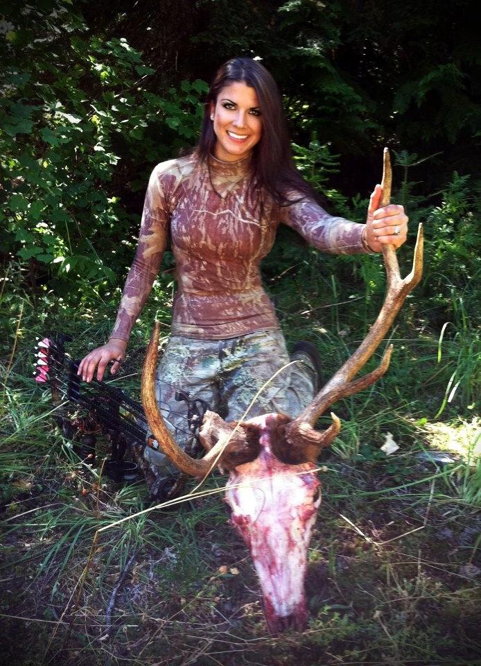 Megan johnson beautiful huntress pinterest photos for Topless girls fishing