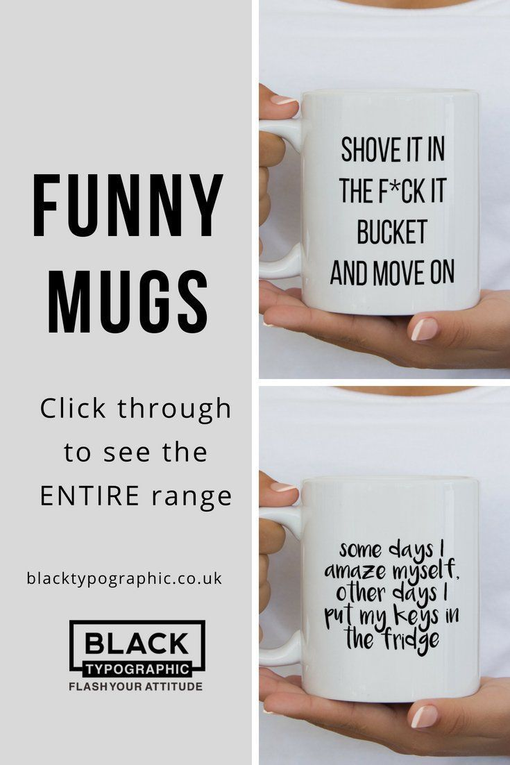 Funny mugs for her, makes a perfect birthday gift for your sister or best friend