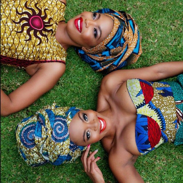 Thembi Seete and bestie Terry Pheto looking stunning as always.