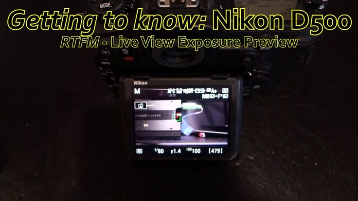 awesome Nikon D500 Tutorial - Live View Exposure Preview (Simulation) & Power Aperture Demo Check more at http://gadgetsnetworks.com/nikon-d500-tutorial-live-view-exposure-preview-simulation-power-aperture-demo/