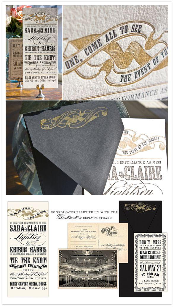 Vintage Invitation ... textures