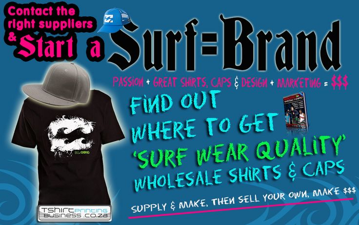 Start a surf Brand South African