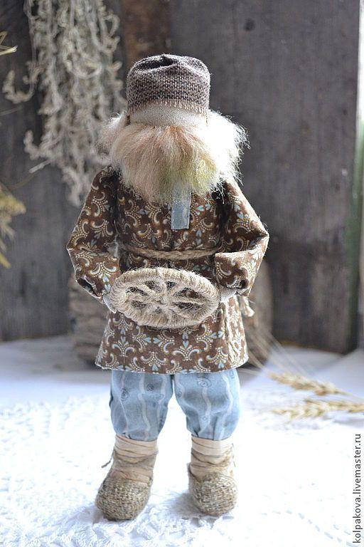 Купить кукла-оберег Спиридон-Солнцеворот. - спиридон, солнцеворот, перемена жизни, Новый Год, обновление