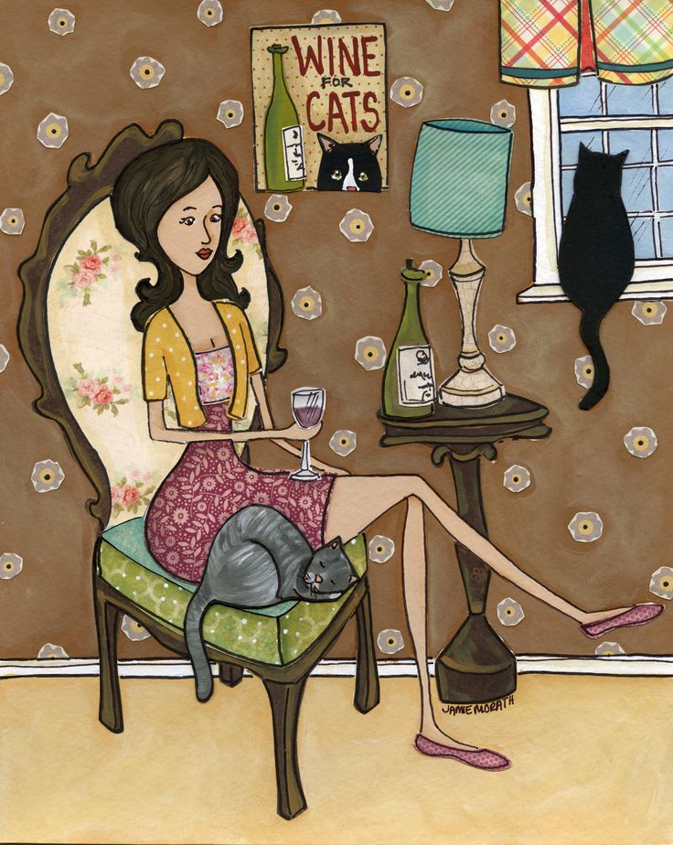 Wine For Cats by Jamie Morath - 3147 x 3951