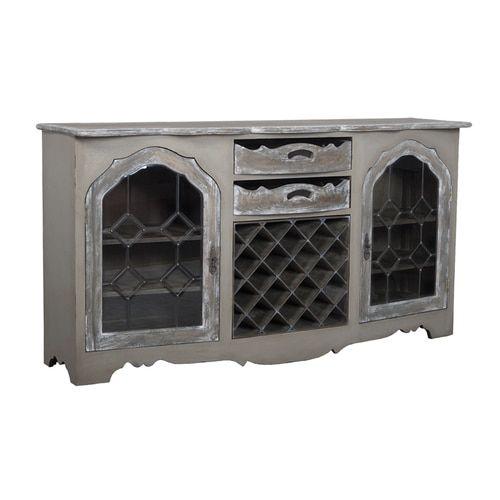Credenza With Wine Storage - 602523